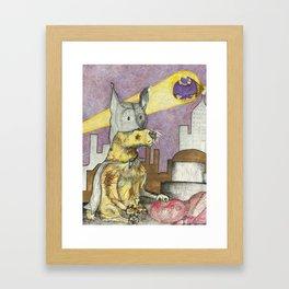 BatPaw Framed Art Print