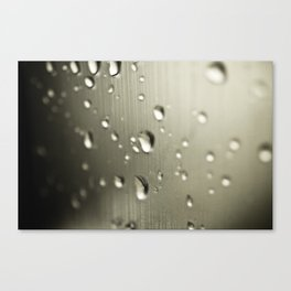 Rain Drops Keep Falling Canvas Print
