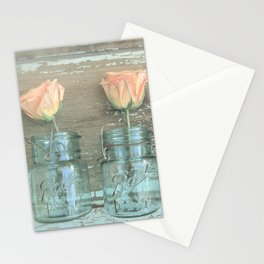 Rose Trio Stationery Cards