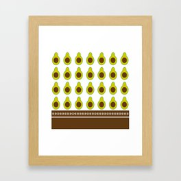 Holy Guacamole Framed Art Print