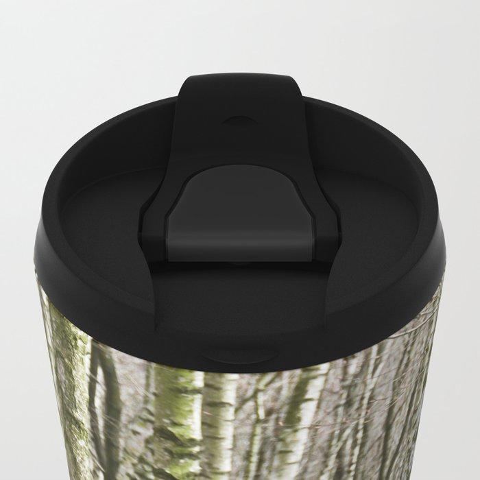 Birches Metal Travel Mug