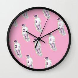 Baekhyun Pattern Wall Clock