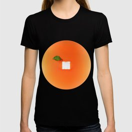 Orange out of the box T-shirt