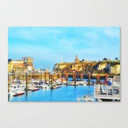 Dieppe Harbour Canvas Print