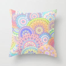 Pastelalas Throw Pillow