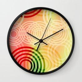 Fabulous Circles Wall Clock
