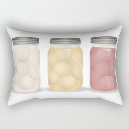 Pickled Eggs Rectangular Pillow