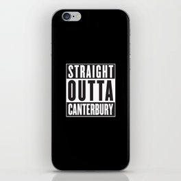 Straight Outta Canterbury - New Zealand Rugby iPhone Skin