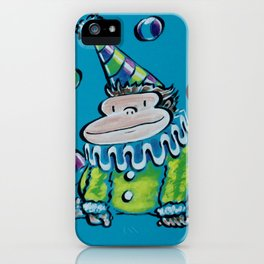Circus Clown Ape iPhone Case