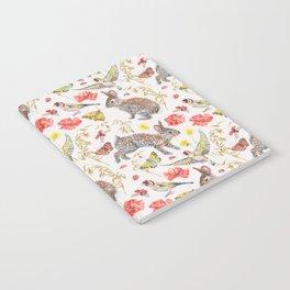 Bunny Meadow Pattern Notebook