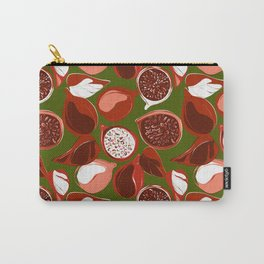Pomegranate green Carry-All Pouch