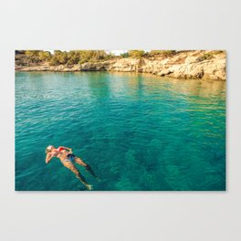 floater Canvas Print