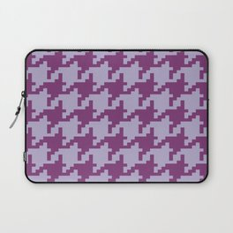 Houndstooth - Purple Laptop Sleeve