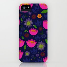 Floating Garden Party iPhone Case