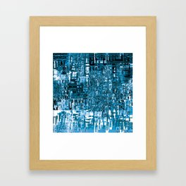 Circuitry Abstract Framed Art Print