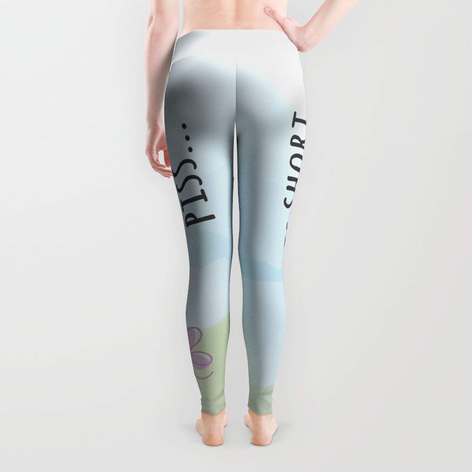 a659eb857683f Life is short like a butterfly piss Leggings by alitadesign | Society6