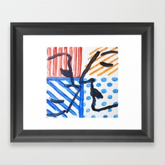yinyang Framed Art Print