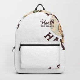 Dancing Hawaiian Girl Backpack