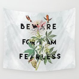 And Therefore Powerful Wall Tapestry