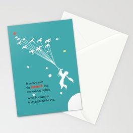 LITTLE PRINCE -Le petit prince- art poster Stationery Cards