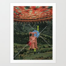 Maybe Or Maybe Not Art Print