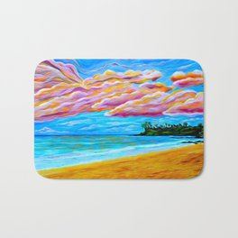 Pāʻia Bay Sunrise Bath Mat