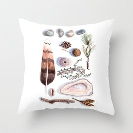 Nature collection # 1 Throw Pillow