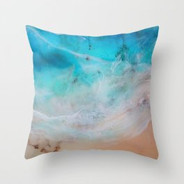 summer reigns Throw Pillow