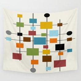 Mid-Century Modern Art 1.3 Wall Tapestry