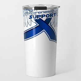 Colon Cancer Support Gifts Travel Mug