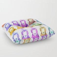 Pop Art Dogs Floor Pillow