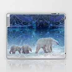 Arctic Journey of Polar Bears Laptop & iPad Skin