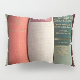 Old Books - Square Pillow Sham