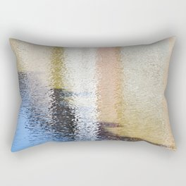 Light and Shadow Reflections (City Walks) Rectangular Pillow