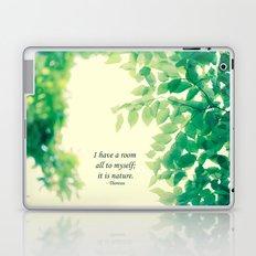 Nature's Room Laptop & iPad Skin