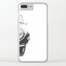 Sketchy Sports Car Clear iPhone Case