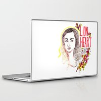allison argent Laptop & iPad Skins featuring Queen Argent by Grit Spit and a Whole Lot of Duct tape