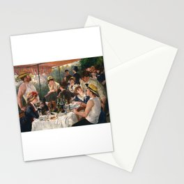 Luncheon of the Boating Party Stationery Cards