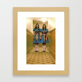 Grady Twins Framed Art Print