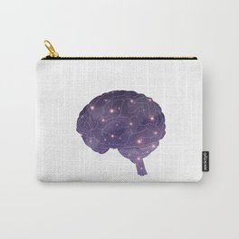 Universe in Brain Carry-All Pouch