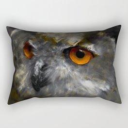 Ruler of the Night Rectangular Pillow