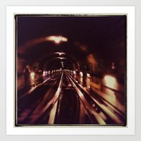 subway Art Prints featuring Subway by Jean-François Dupuis