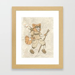 Young Explorer Framed Art Print