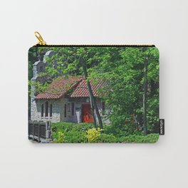 Lourdes University-  Behind the Portiuncula  Chapel Carry-All Pouch