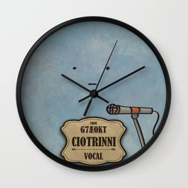 Ciotrinni from G7Ae0KT (Vocal) Wall Clock