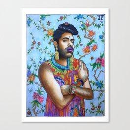 Alok Canvas Print