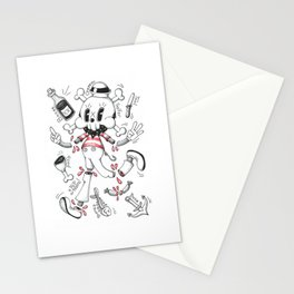 Skulltoons Nr.1 Stationery Cards