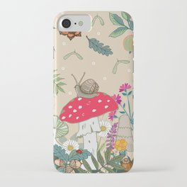 Toadstools in the Woods iPhone Case