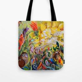Bird-town Tote Bag