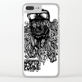 "WASTED ZOMBIE ""SCARFACE"" Clear iPhone Case"